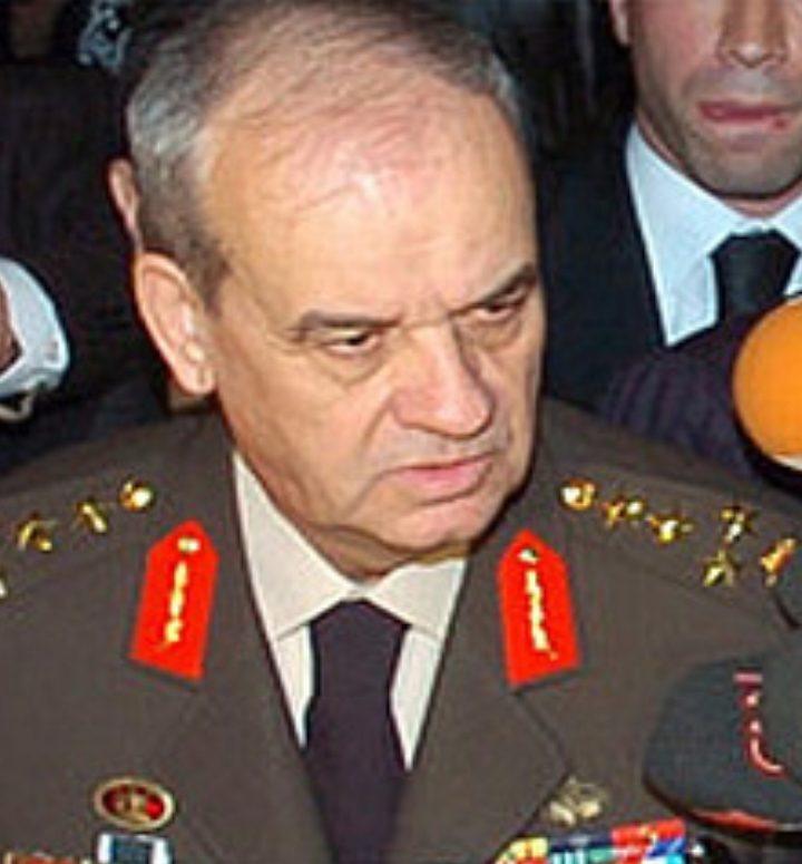 Turkiets Överbefälhavare har avgått!