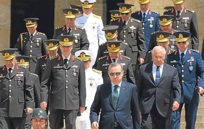 Turkiets befälhavare hade avgått