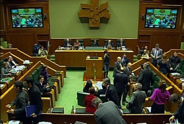 Baskiens parlament uppmanar Europa