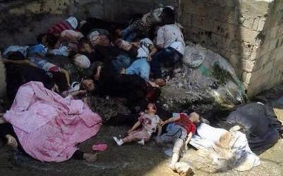 Kurder massakreras i Syrien