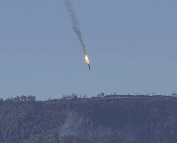 Turkiet sköt ner ryskt plan